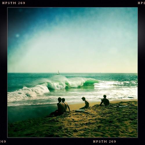 ocean ca beach water canon coast lomo lomography surf body board irene sponge swell overhead t2i