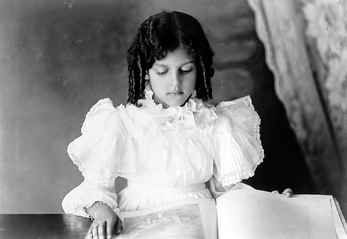 Young Black Girl with Corkscrew Curls - 1899