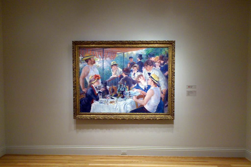 Washington DC: The Phillips Collection, Pierre-Auguste Renoir - Luncheon of the Boating Party (1881)