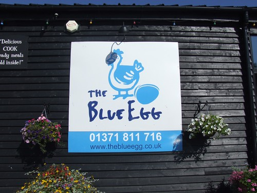 The Blue Egg, Great Bardfield, Essex