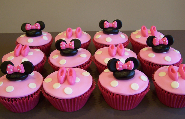Cupcakes decorados de mimi Mouse - Imagui