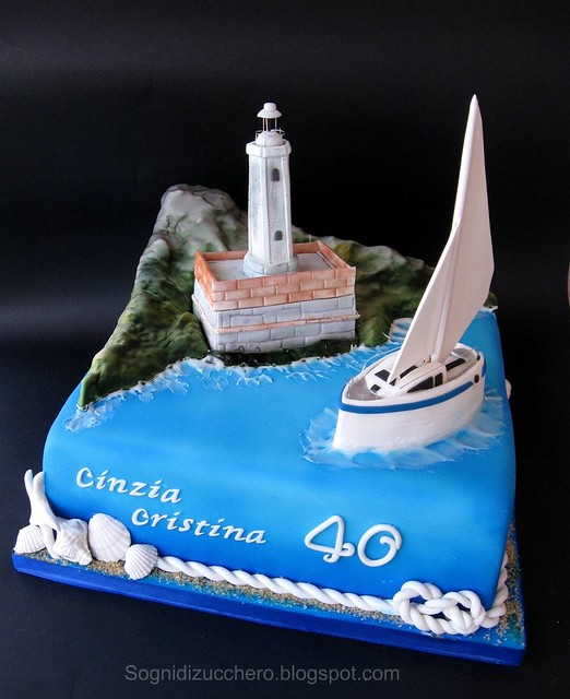 Make A Lighthouse Cake