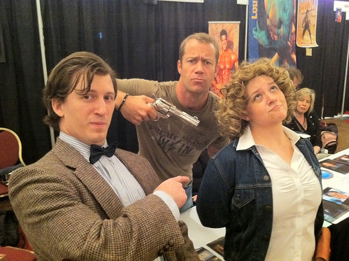 River Song meets Sheriff Jack Carter