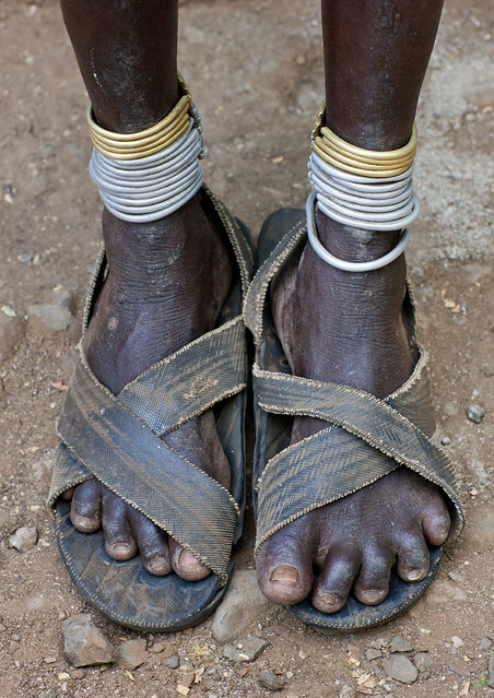 Those shoes are made for walking, a lot.. Ethiopia