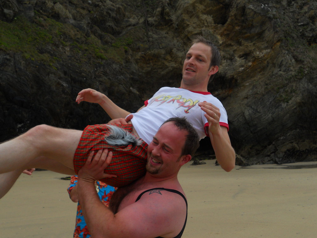 Paul and Chris... Atomic Drop?