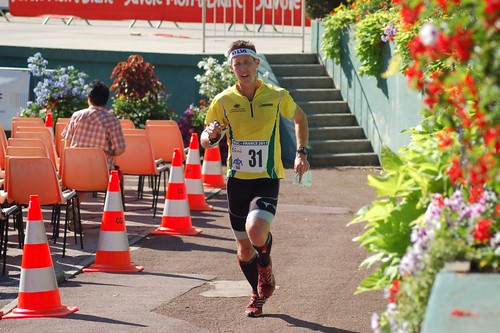 Rob Preston wearing Linebreak tights at WOC 2011