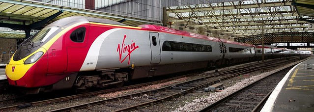 Virgin Pendolino.Stitched.
