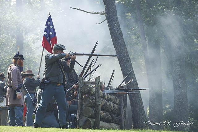 Confederate Breastworks Carnifex Ferry