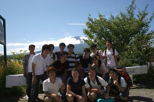 Kawaguchiko group shot