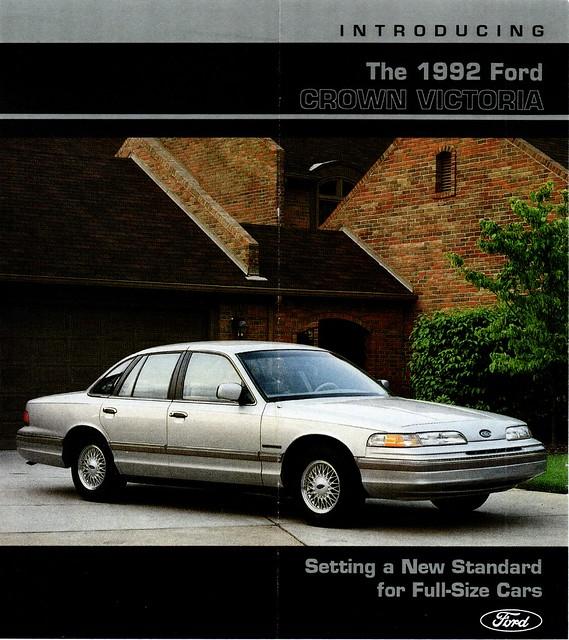 1992 Ford Crown Victoria (USA) P1