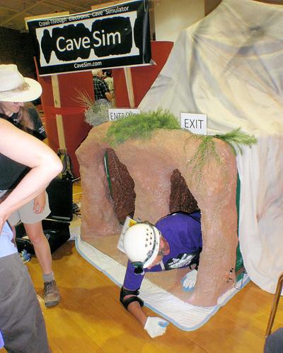 042 A Cave Sim Contestant Emerges