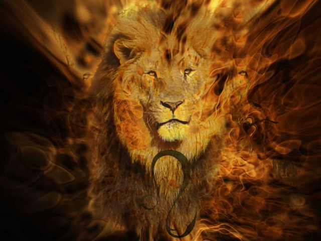 Fire Lion Leo | Flickr - Photo Sharing!