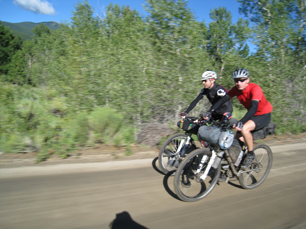 John Fettis and Steve Wilkinson on the Detour to Buena Vista