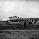 A Greek farmhouse used as H.Q. by engineer staff, Lemnos
