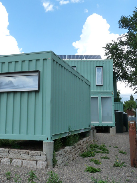 Jones glotfelty shipping container house flagstaff az flickr photo sharing - Container homes arizona ...