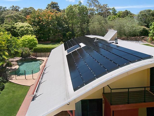 Solar Frontier thin-film solar panels