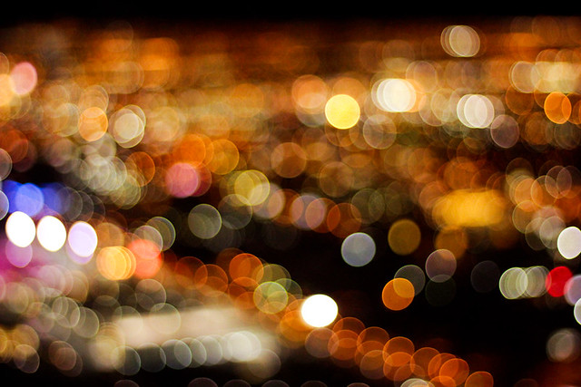 Las Vegas Lights at Night - Image by Flickr user ohitzanna