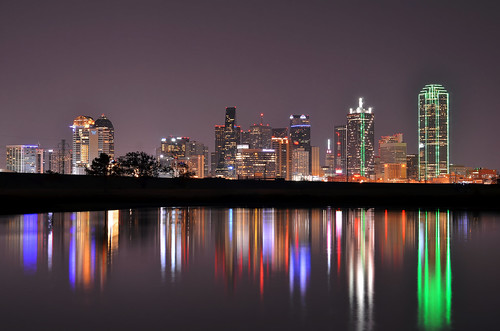 longexposure night dallas clear dallasskyline nikond7000