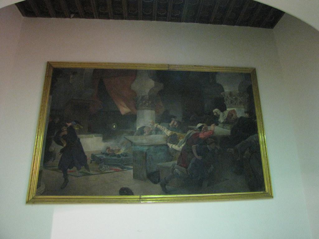 Convento de Corpus Christi - Milagro de la Eucaristía, de Vicente Cutanda