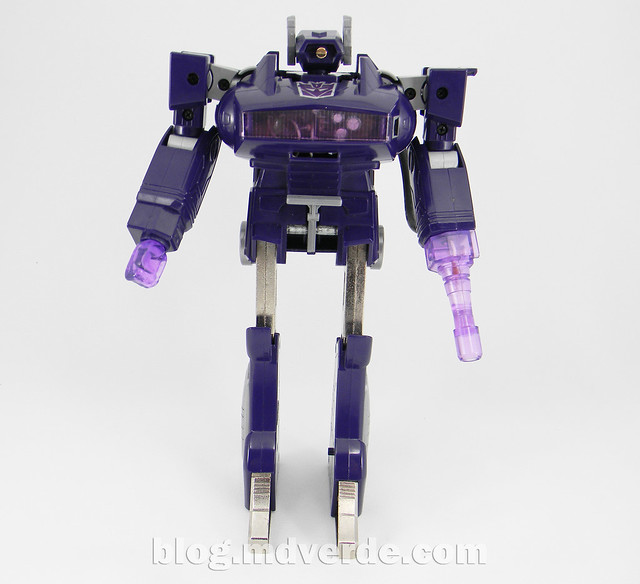 Transformers Shockwave G1 - modo robot | Nombre: Shockwave ...