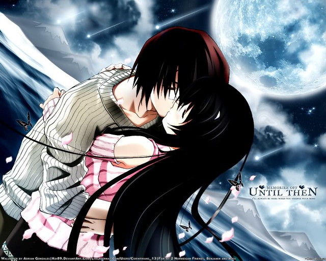 Emo Love Anime Kiss Flickr Photo Sharing