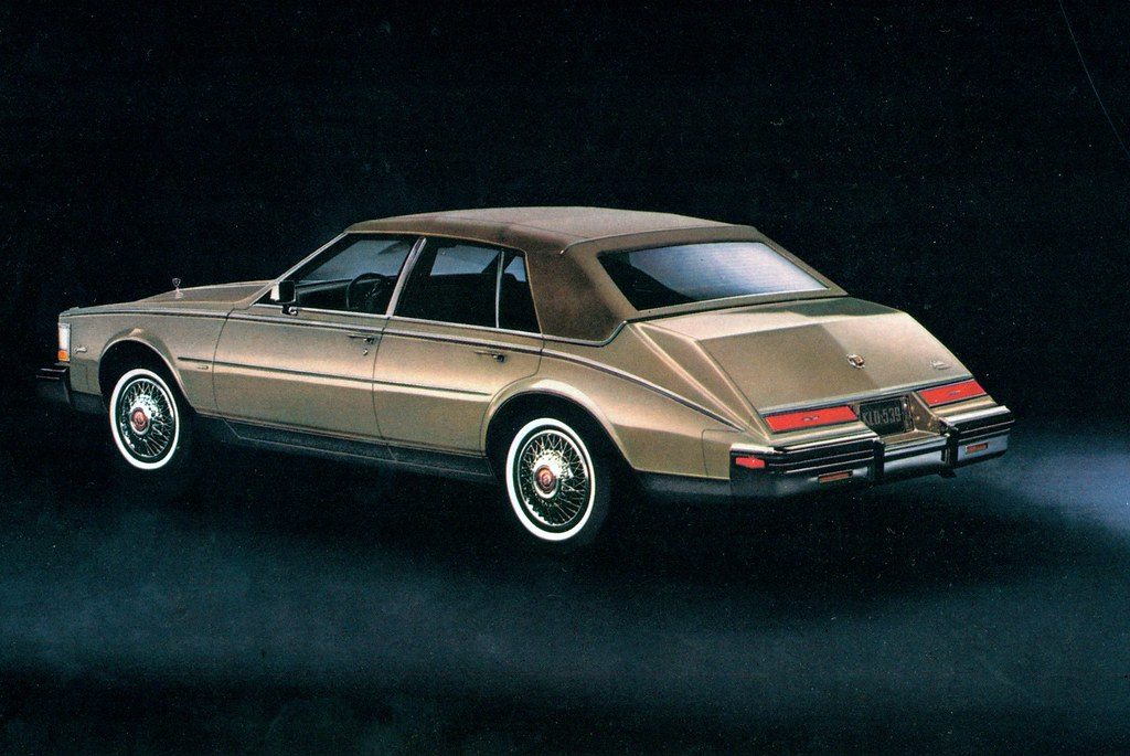 1983 Cadillac Seville With Full Cabriolet Roof
