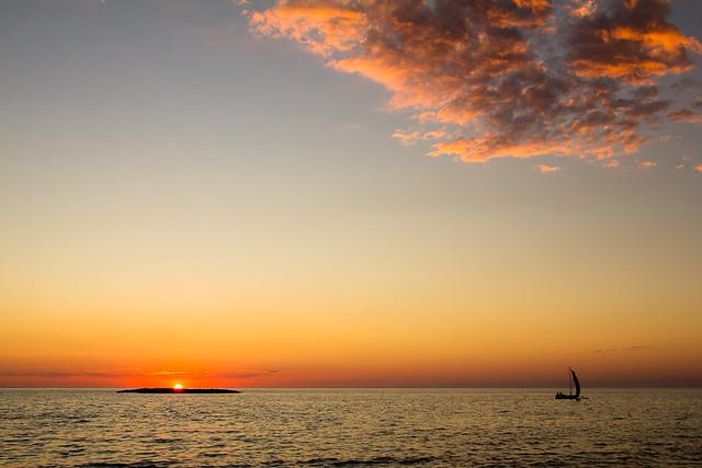 Belo-sur-Mer sunset, par Franck Vervial