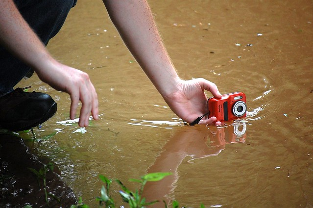 Camera in the water - change your vantage point - by flickr user mtsofan