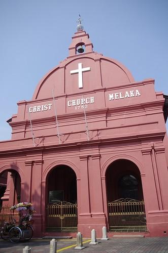 Christ Church Melaka ムラカ・キリスト教