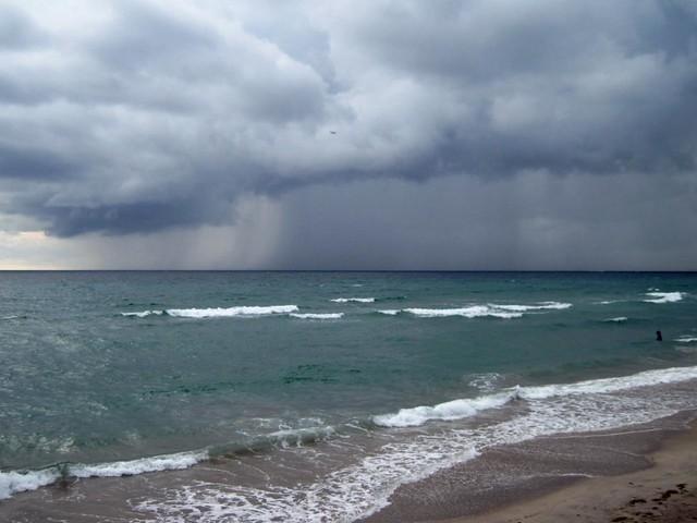 Ominous Sky and Sea