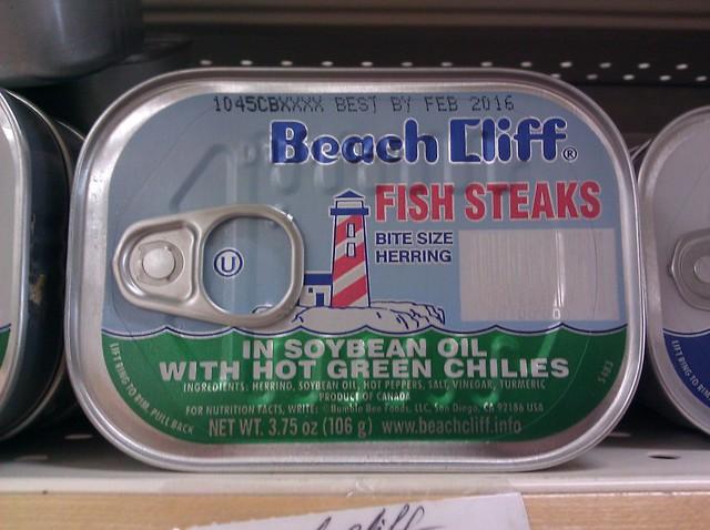 Beach cliff fish steaks flickr photo sharing for Beach cliff fish steaks