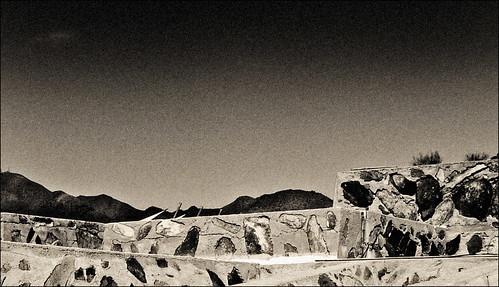 Taliesin West Wall Detail by Juli Kearns (Idyllopus)