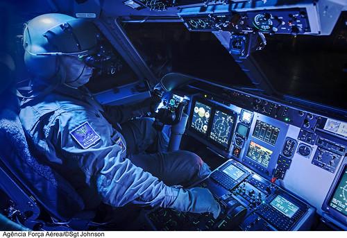Uso de NVG em C-105