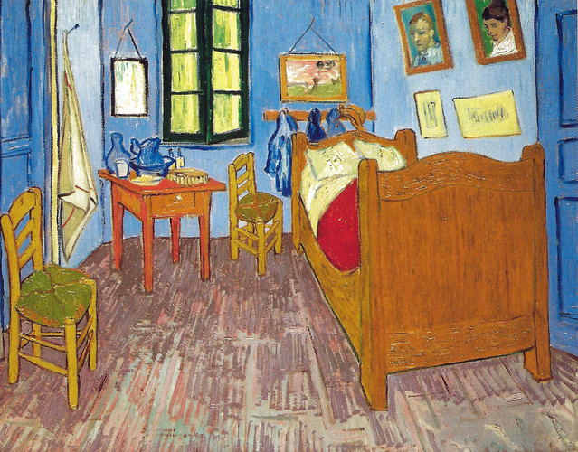 vincent van gogh van gogh 39 s bedroom at arles 1889 at mus e d 39 orsay