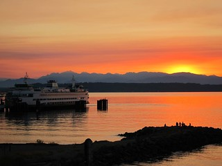 Gorgeous Edmonds Sunset & Ferry