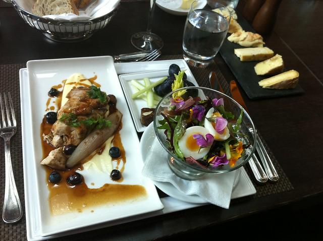 Lunch at La Belle Époque in the Heathrow T5 Sofitel