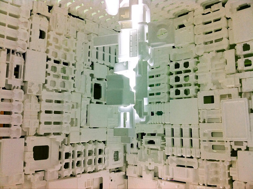 Styrene Foam Room by atelierhide