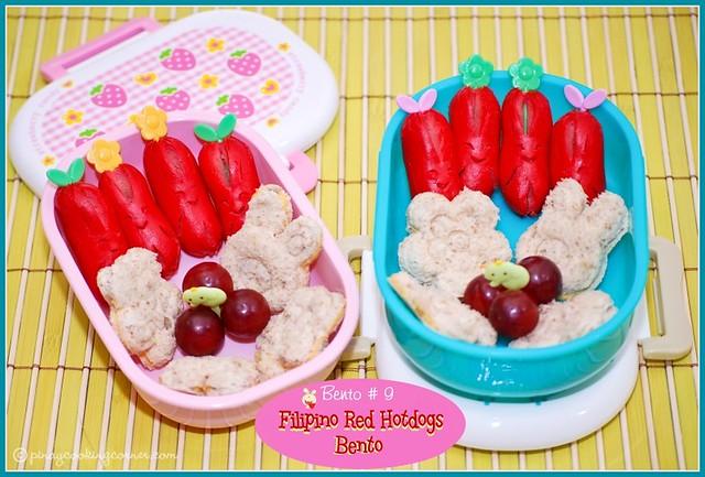 bento 9 filipino red hotdogs bento flickr photo sharing. Black Bedroom Furniture Sets. Home Design Ideas
