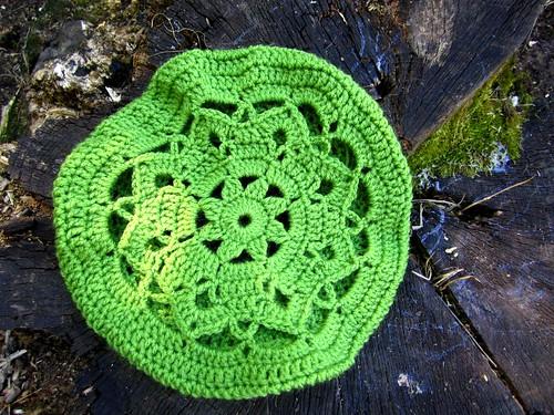Crochet beret by Bohemian Hooks