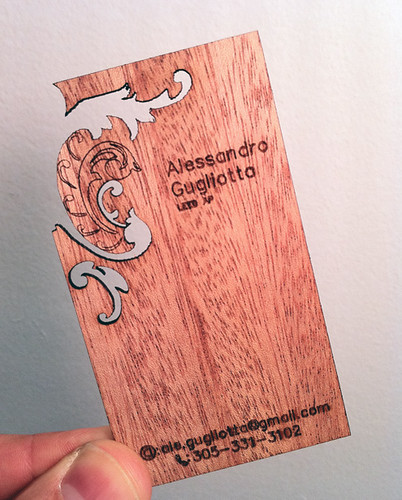 Unusual Business Card 29