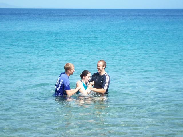 emily's baptism