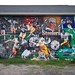 Old School Steelers Mural