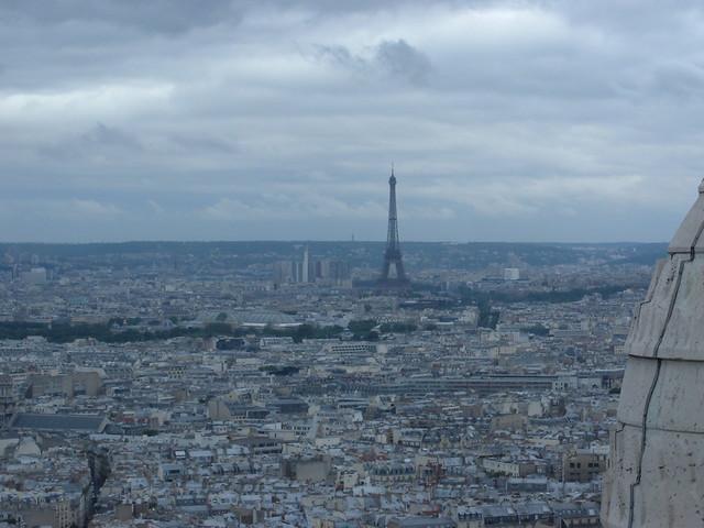 Torre Eiffel desde Sacré Coeur
