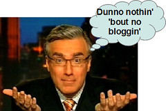 keith olbermann dunno bloggin'