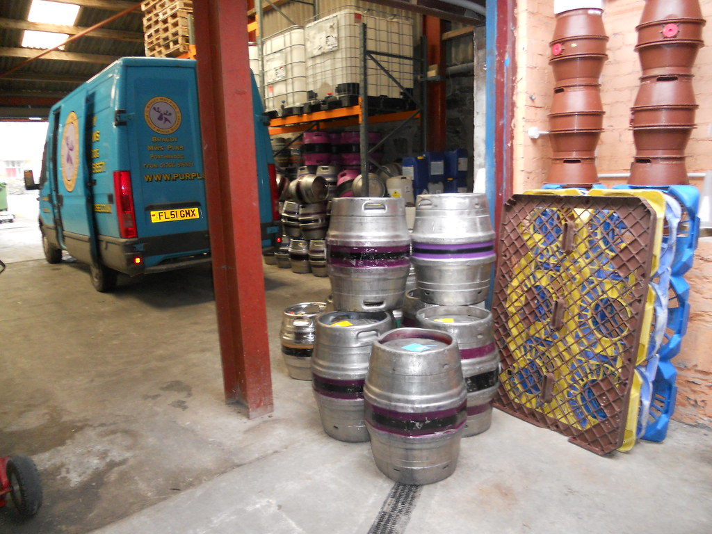 Purple Moose Casks and Van