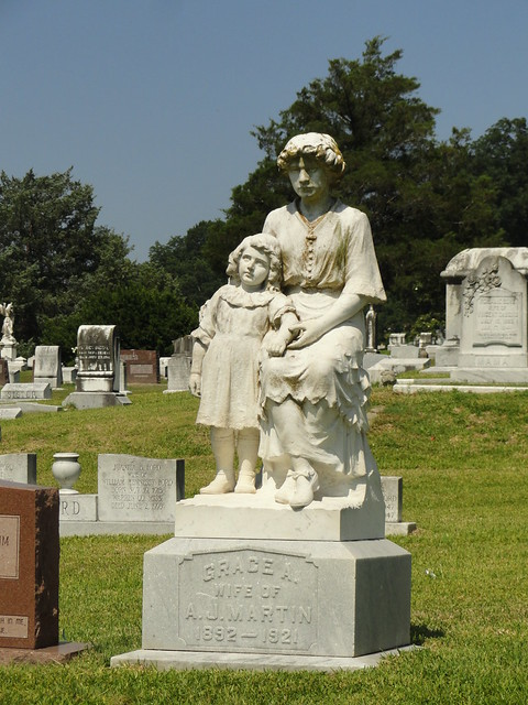 Grace, Wife of A.J. Martin, Cedar Hill Cemetery, Vicksburg MS