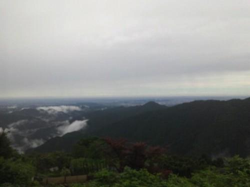 山登り中、御岳山にきました