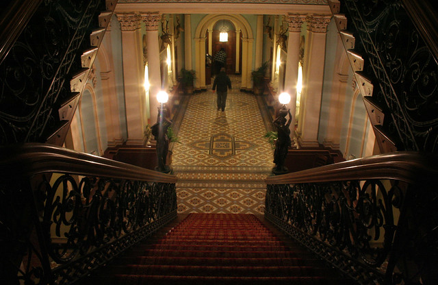 Victorian Mansion Foyer : Werribee park mansion foyer flickr photo