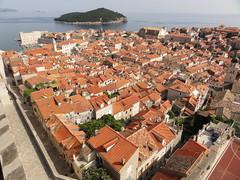 Ancient City Walls. Dubrovnik, Croatia