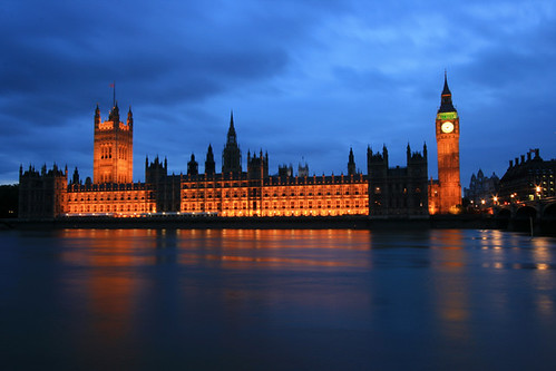 Houses of Parliament - London, England